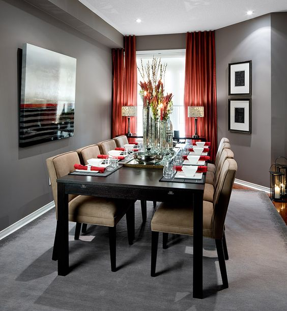 grey dining room 23