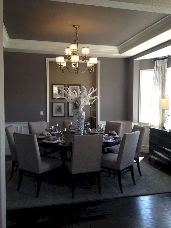 grey dining room 5