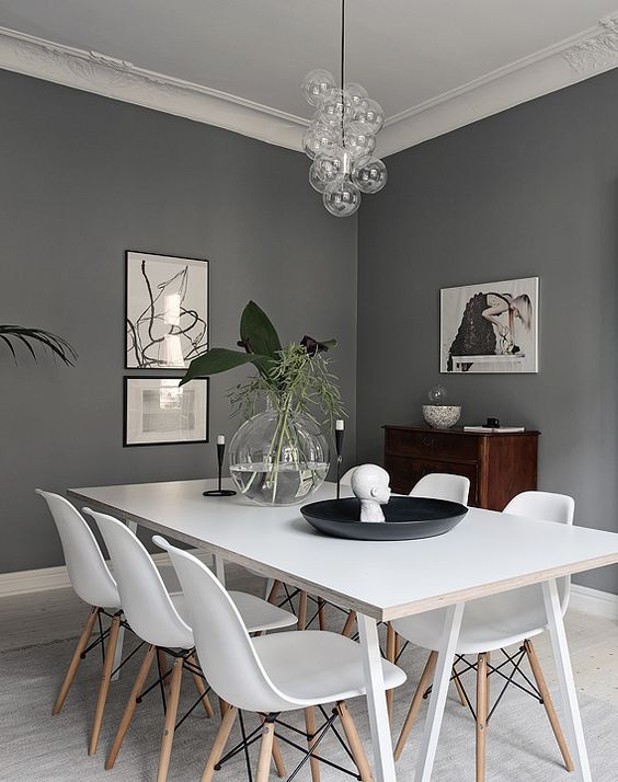 grey dining room 8