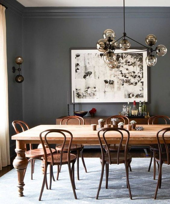 grey dining room 9