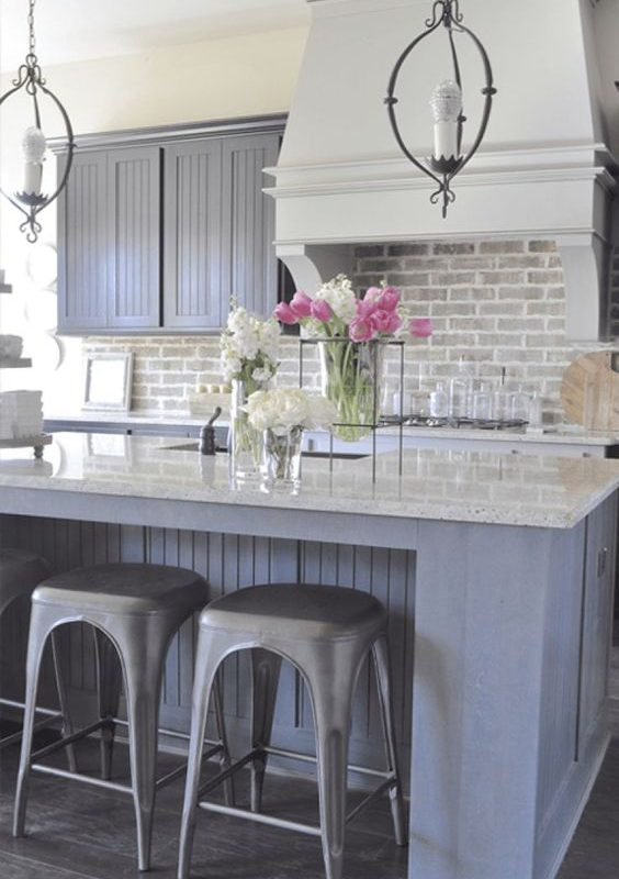 grey kitchen decoration 17