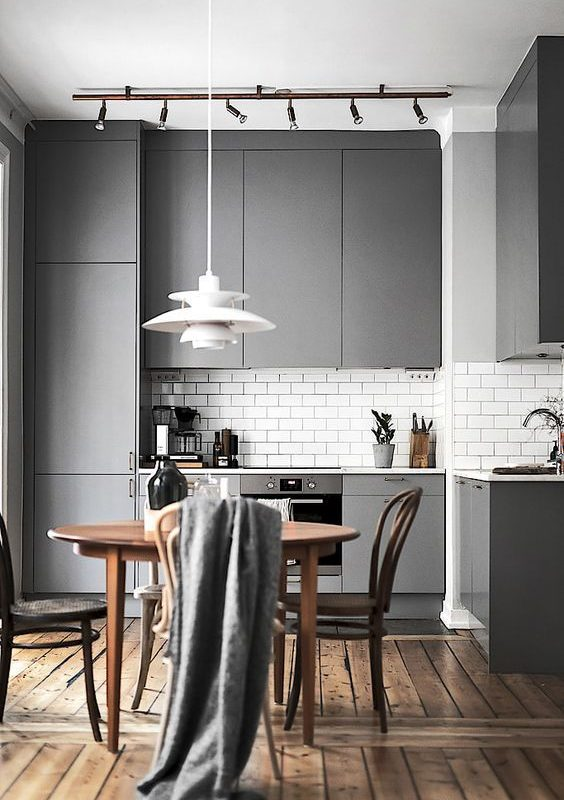 grey kitchen decoration 2