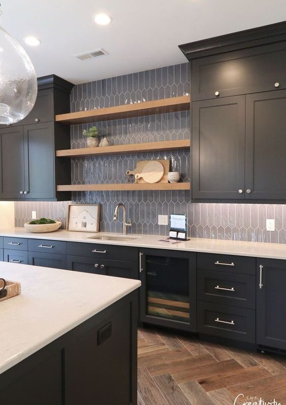 grey kitchen decoration 20