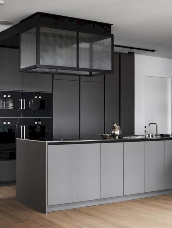grey kitchen decoration 22