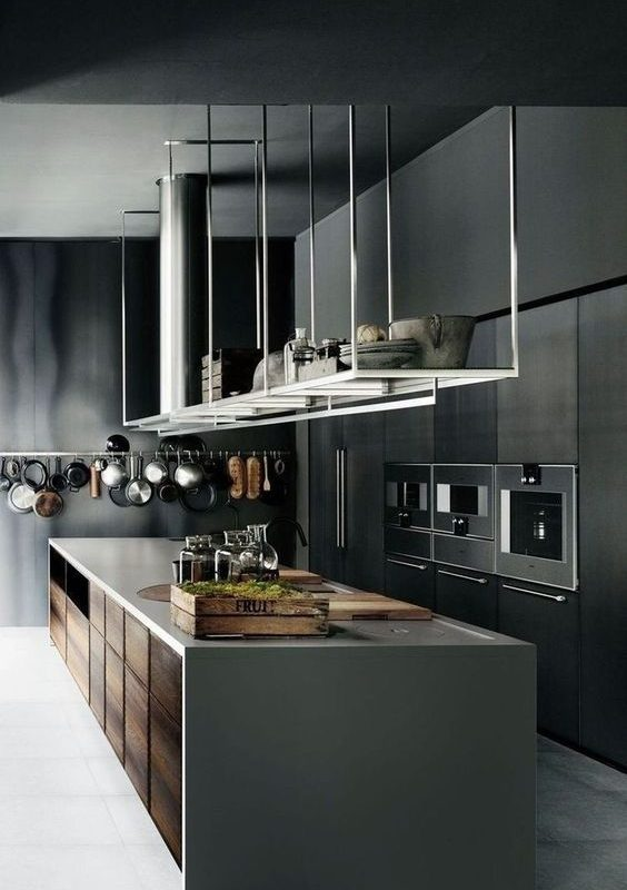 grey kitchen decoration 4