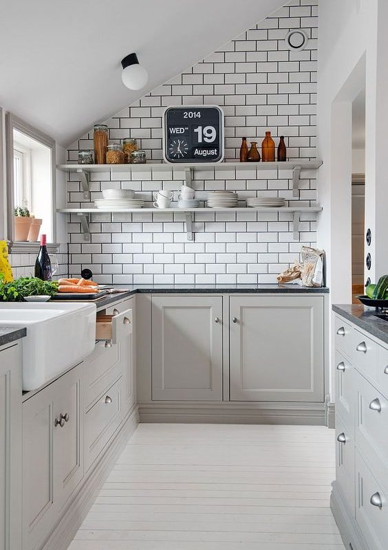 grey kitchen decoration 5