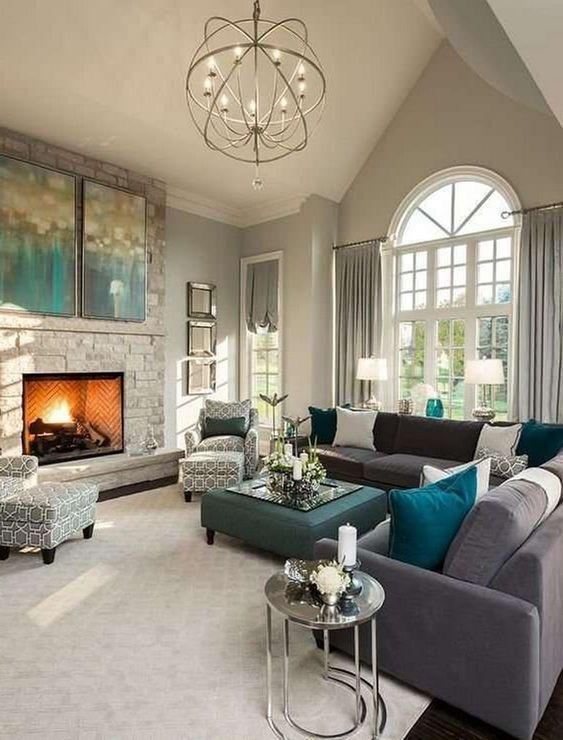 grey living room 15