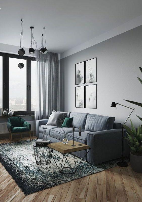 grey living room 17