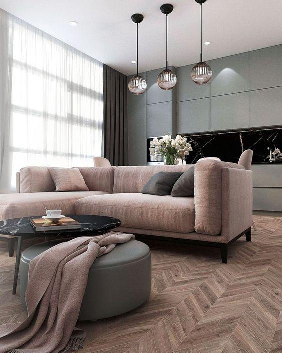 grey living room 19