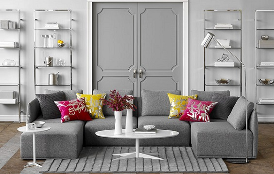 grey living room 25