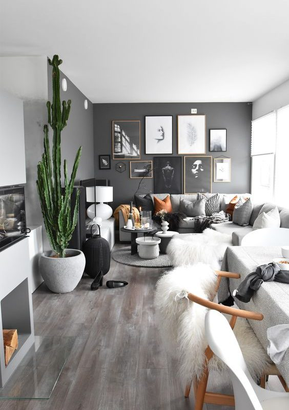 grey living room 26