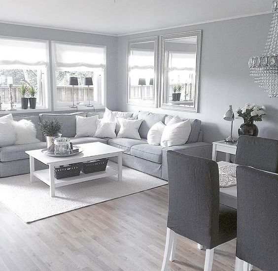 18 Gorgeous Grey Living Room Ideas: 25+ Most Beautiful Grey Living Room Decoration Ideas With