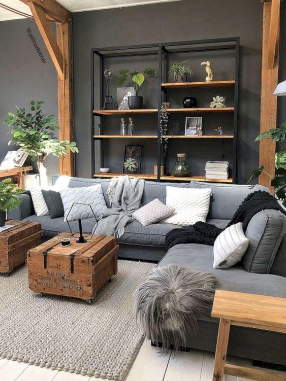 grey living room 8