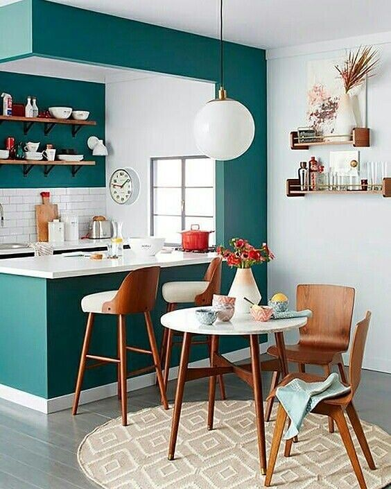 kitchen color combination 11