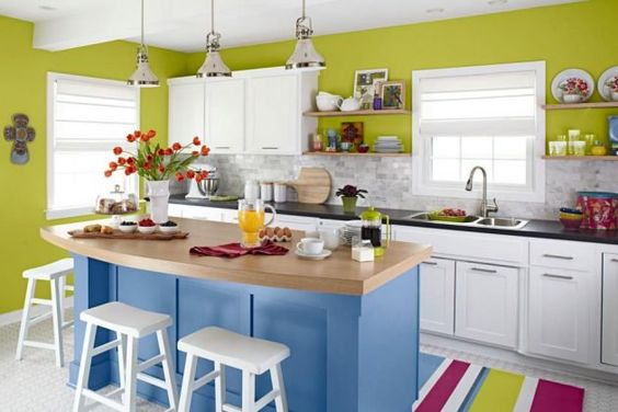 kitchen color combination 12
