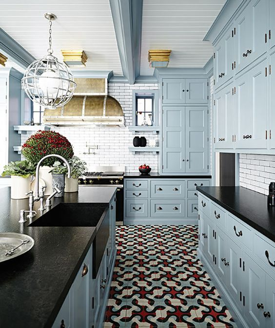 kitchen color combination 15