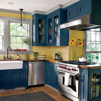 kitchen color combination 19