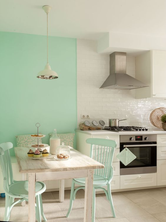 kitchen color combination 7