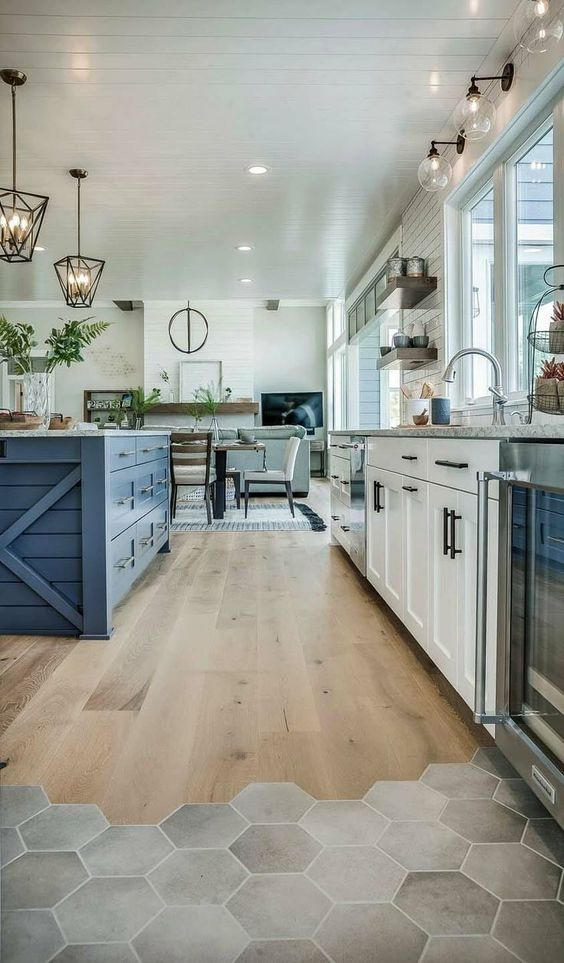 25 most unique kitchen tile floor ideas to try in 2019 - Most popular kitchen flooring ...