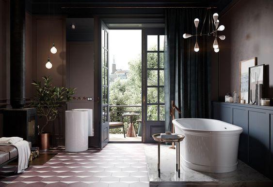 eclectic bathroom 10