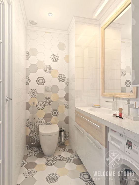 eclectic bathroom 19