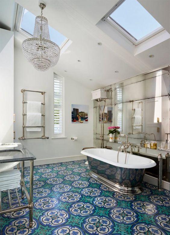 eclectic bathroom 5