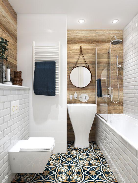 eclectic bathroom 6