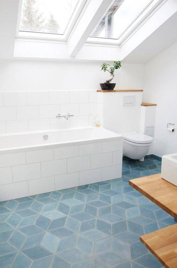 eclectic bathroom 9