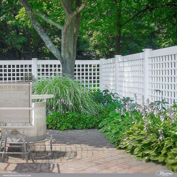 lattice fence ideas 1