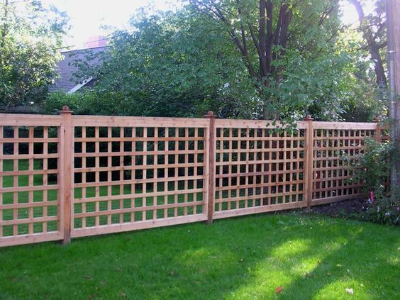 lattice fence ideas 12
