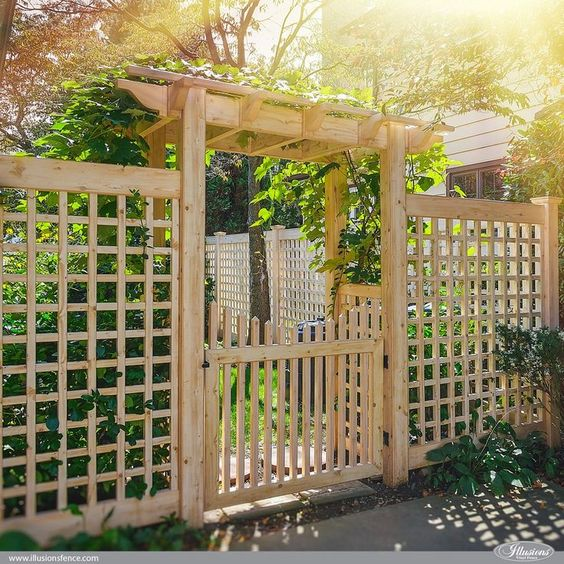 lattice fence ideas 14