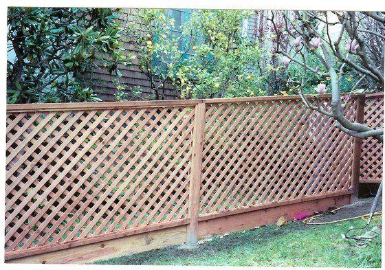 lattice fence ideas 21