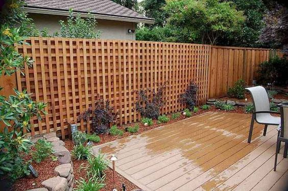 lattice fence ideas 22