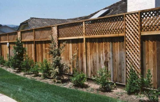 lattice fence ideas 25