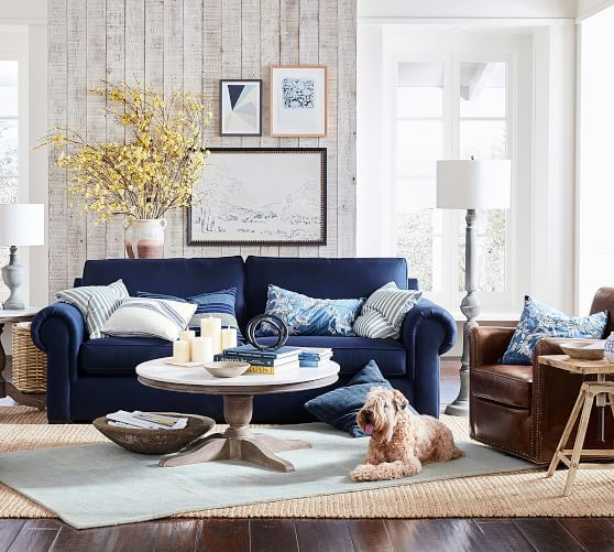 beadboard living room 10