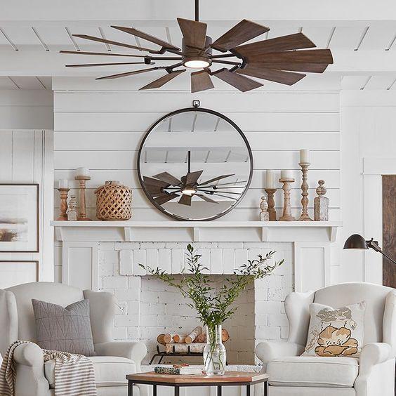 beadboard living room 15
