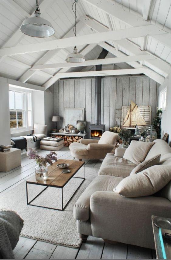 beadboard living room 17