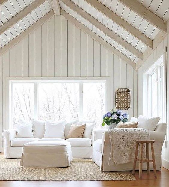 beadboard living room 21