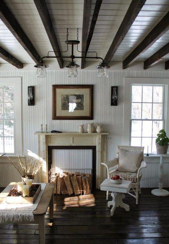 beadboard living room 7