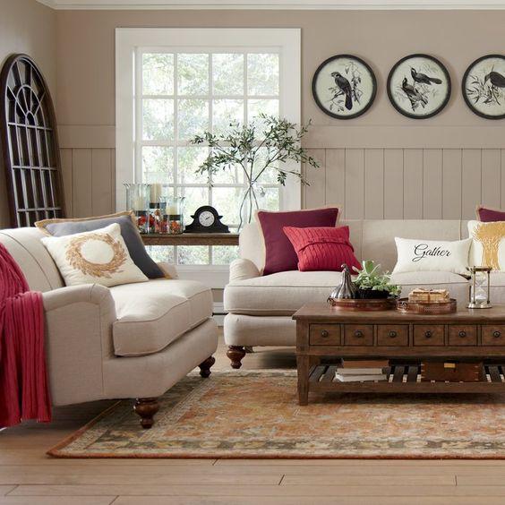 beadboard living room 9