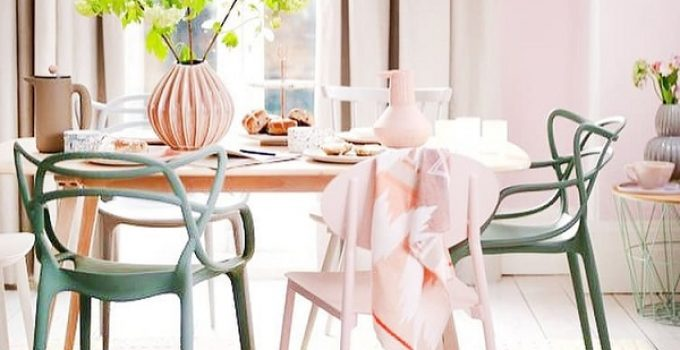 boho dining room feature
