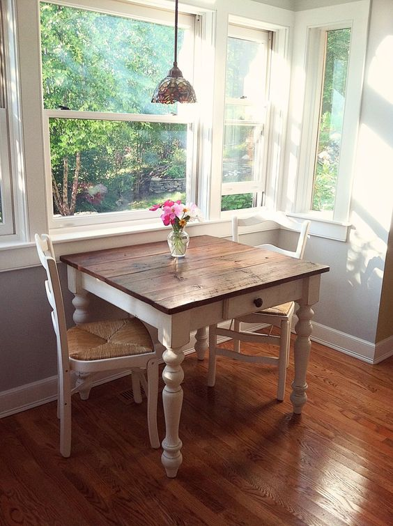 shabby chic dining room 13