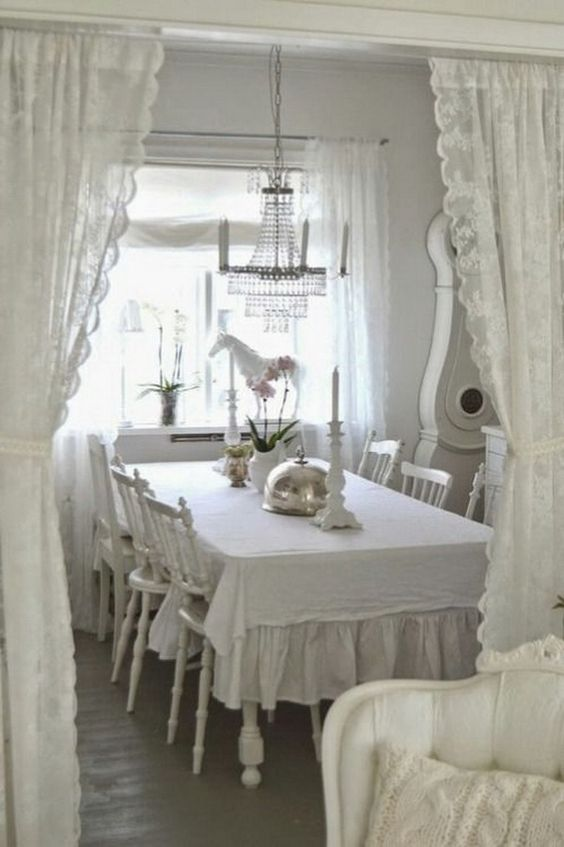 shabby chic dining room 22