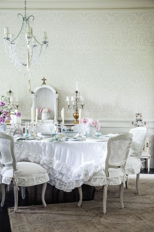 shabby chic dining room 24