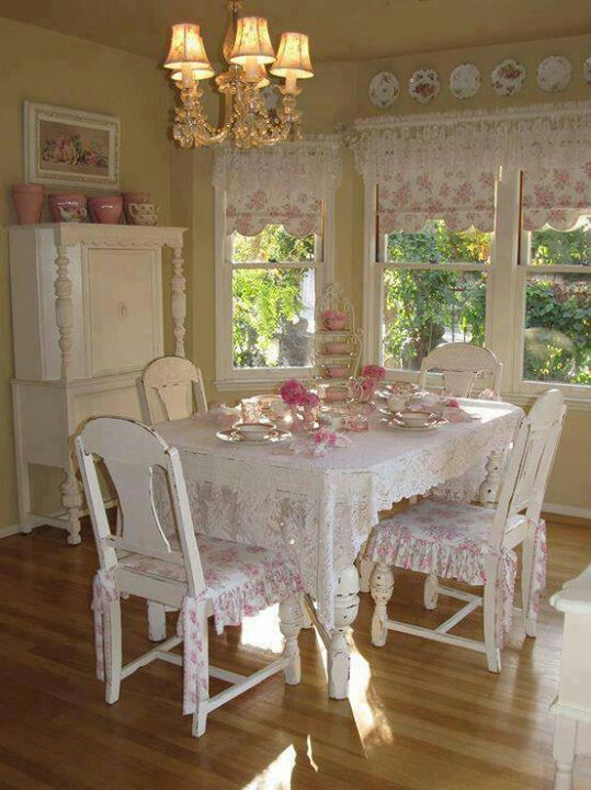 shabby chic dining room 3