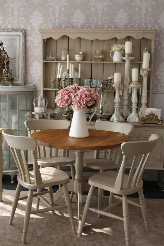 shabby chic dining room 6