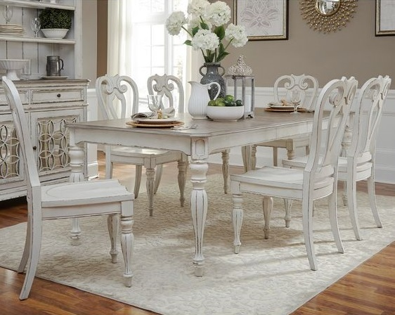 shabby chic dining room 7