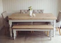 shabby chic dining room feature