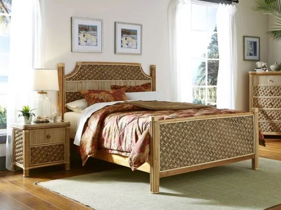 wicker bedroom 1
