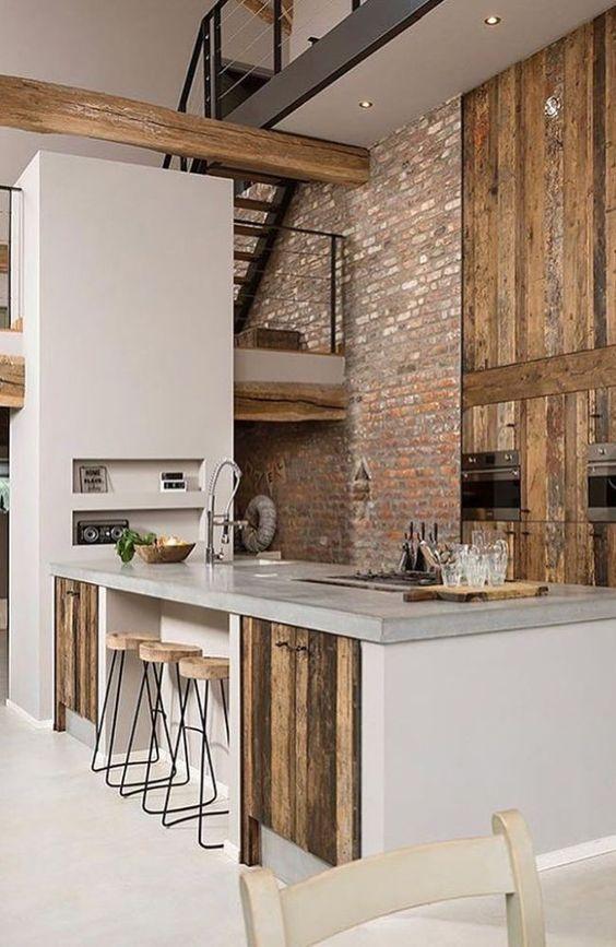 beamed kitchen ideas 1